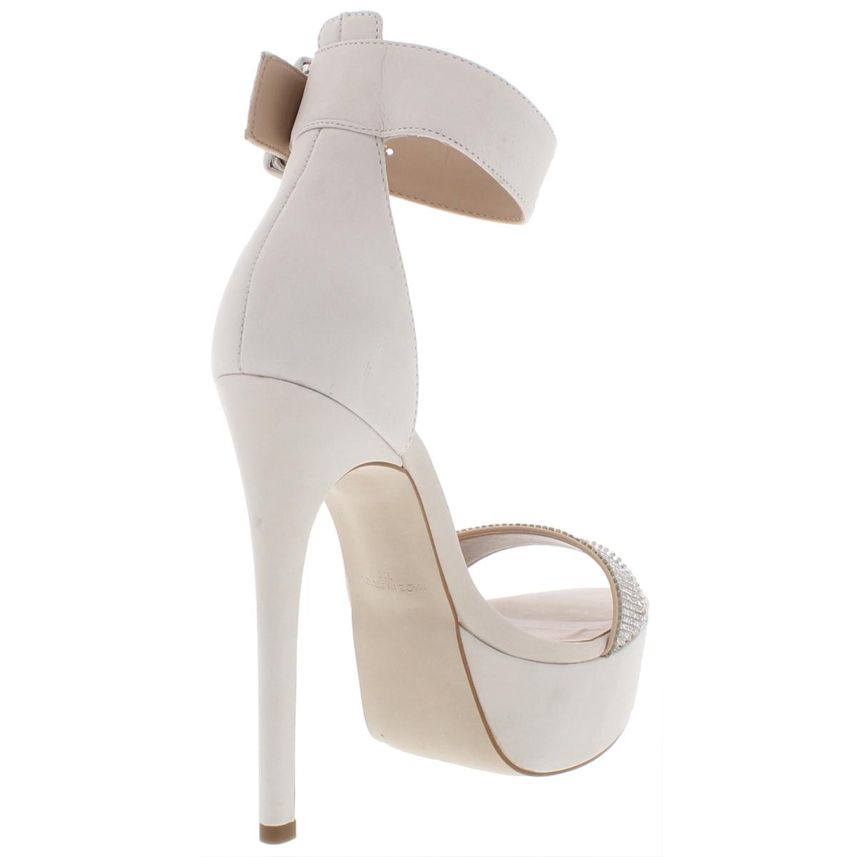 Steve-Madden-Womens-Sultry-Suede-Stiletto-Platform-Heels-Shoes-BHFO-7084 thumbnail 8