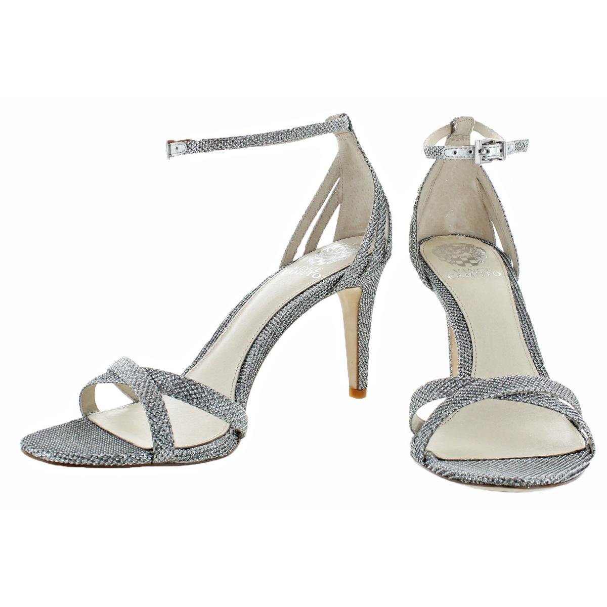 ae5b96790b7 Vince Camuto Camron Women s Leather Open Toe Criss-Cross Dressy ...