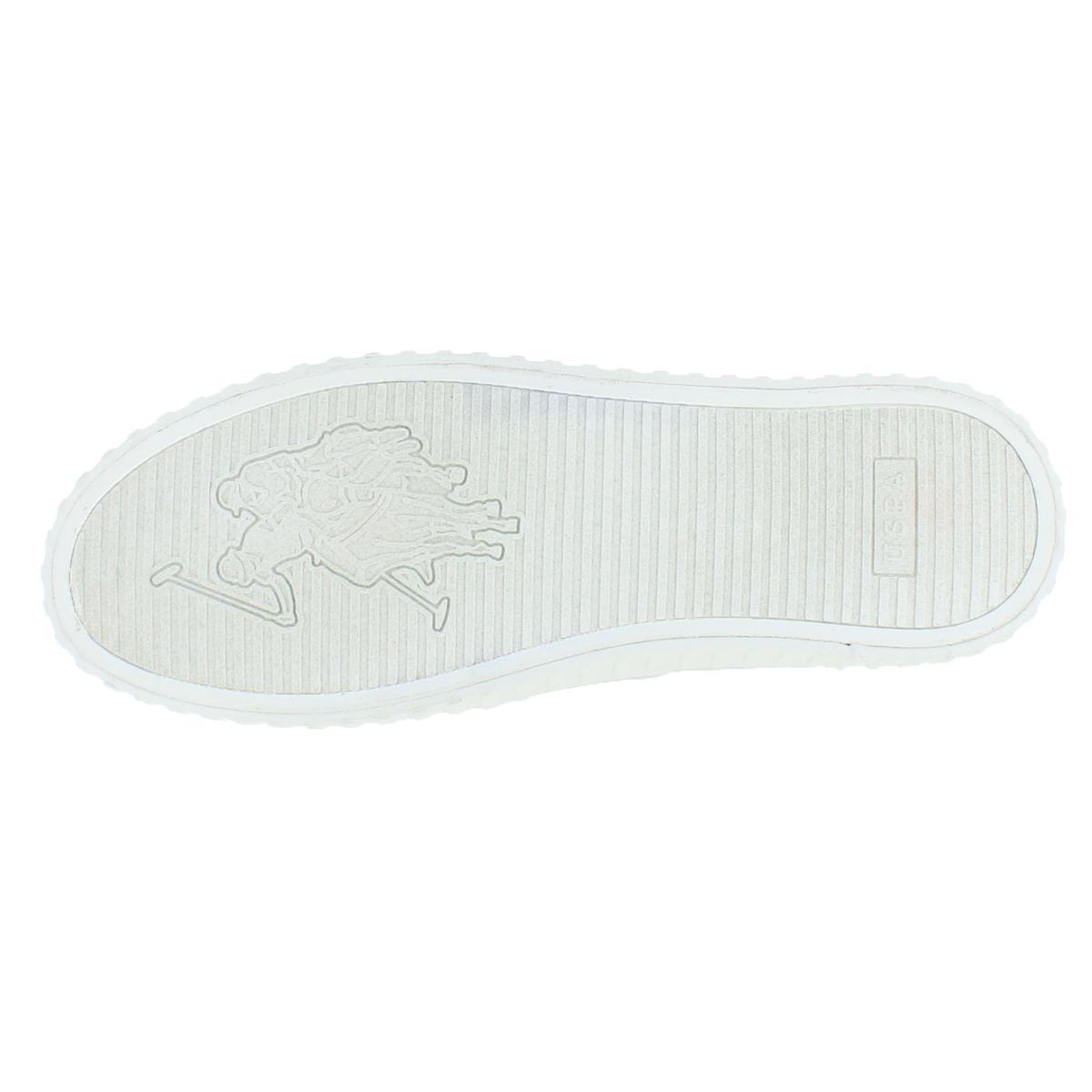 Zeto Men/'s Faux Leather Slip On Fashion Sneaker Shoes Polo Assn U.S