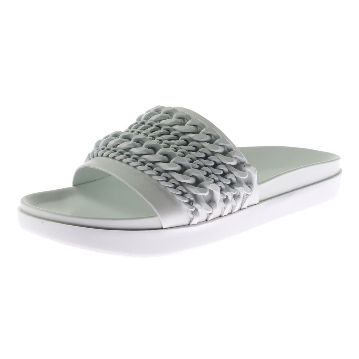 Kendall + Kylie 2 Damenschuhe Shiloh 2 Kylie Leder Fashion Slide Sandales Schuhes BHFO 3912 066af7