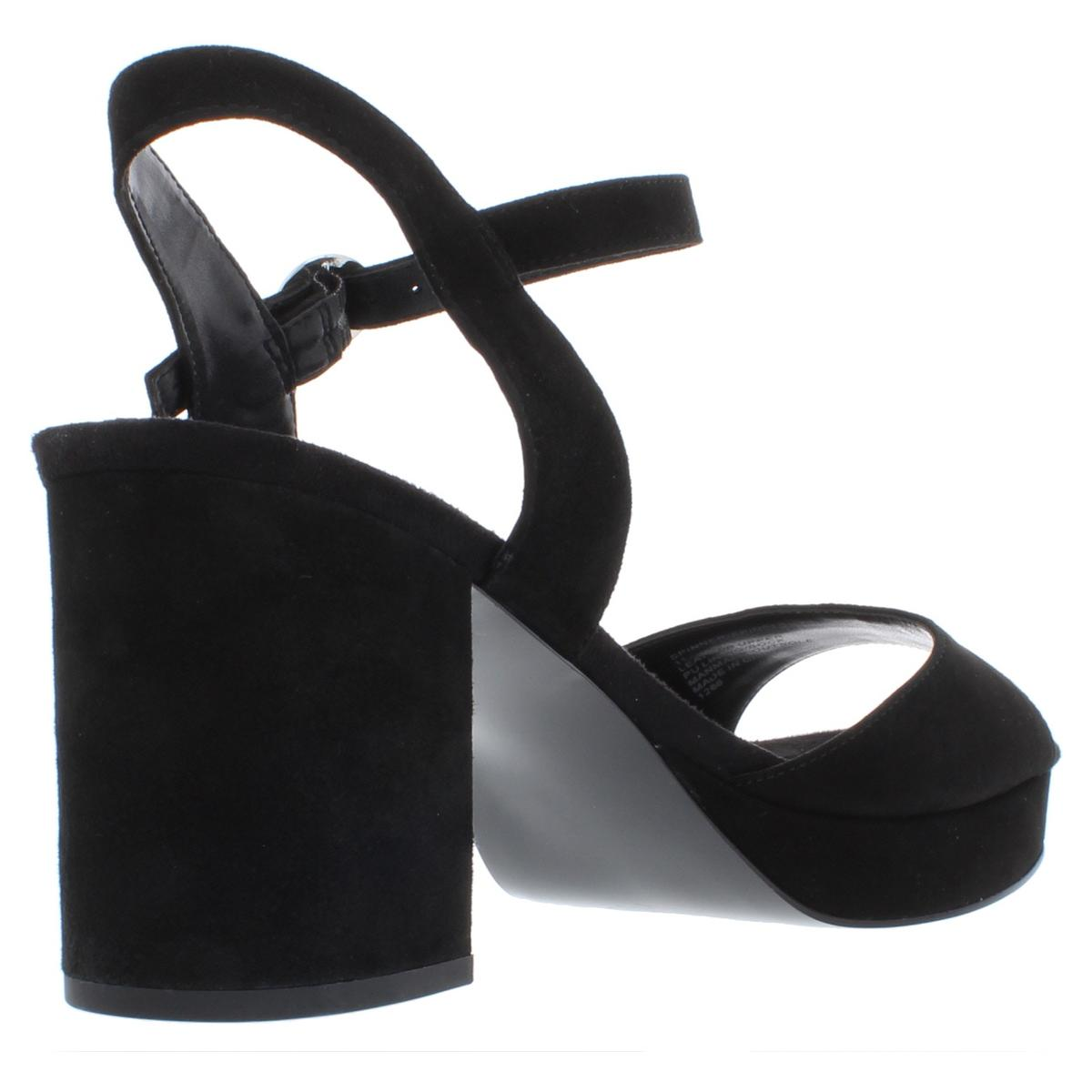 Steve-Madden-Womens-Spinner-Solid-Block-Heel-Dress-Sandals-Shoes-BHFO-1805 thumbnail 4