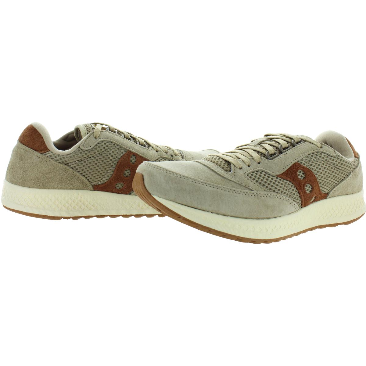 Saucony-Mens-Freedom-Runner-Tan-Running-Shoes-Sneakers-7-Medium-D-BHFO-4411 thumbnail 5