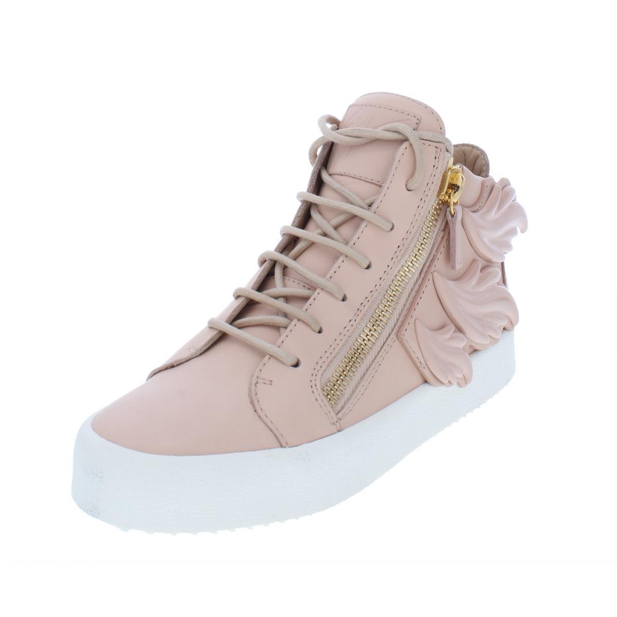 a3cc9b20757 Details about Giuseppe Zanotti Womens May London Pink Fashion Sneakers 36  Medium (B