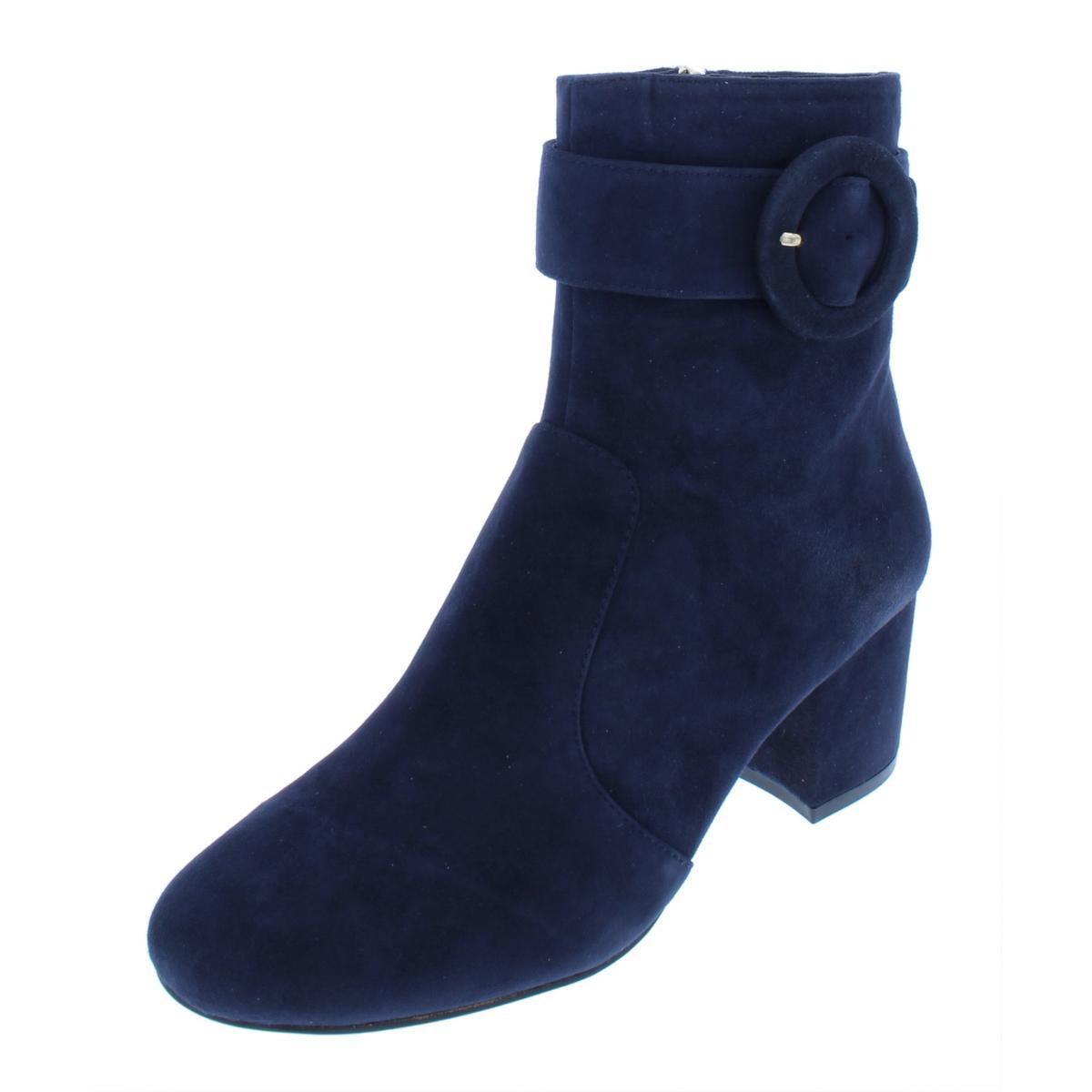 Nine West Damenschuhe Quilby Navy Suede Ankle Booties Schuhes 5 Medium Medium 5 (B,M) BHFO 6355 16e9e4