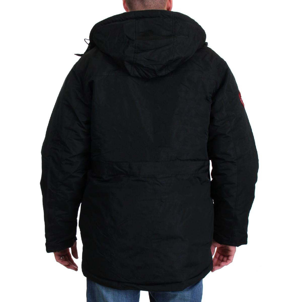 Canada-Weather-Gear-Systems-Men-039-s-Waterproof-Warm-Winter-Bib-Parka-Coat thumbnail 8