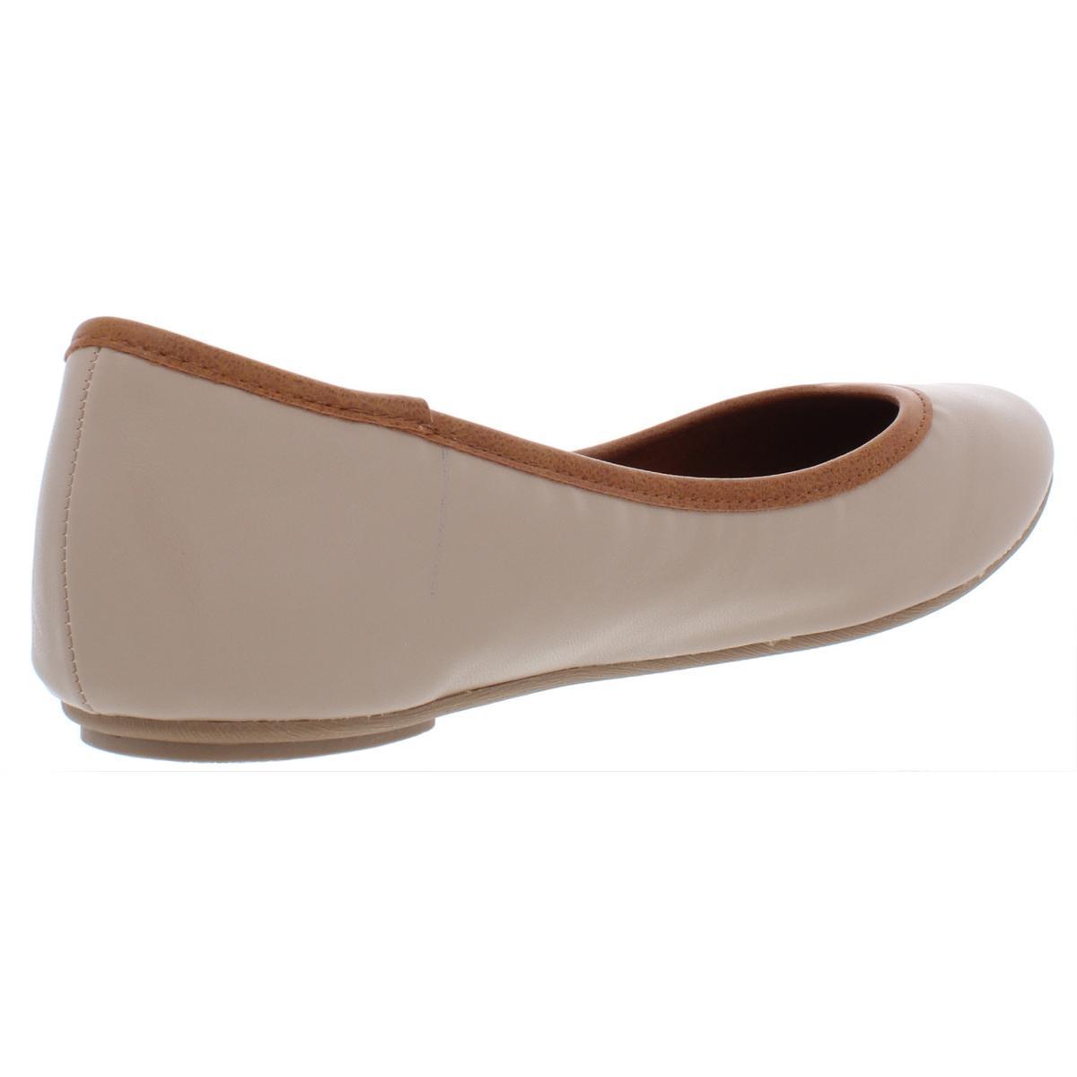 American-Rag-Womens-Cellia-Contrast-Trim-Slip-On-Ballet-Flats-Shoes-BHFO-6452 thumbnail 10