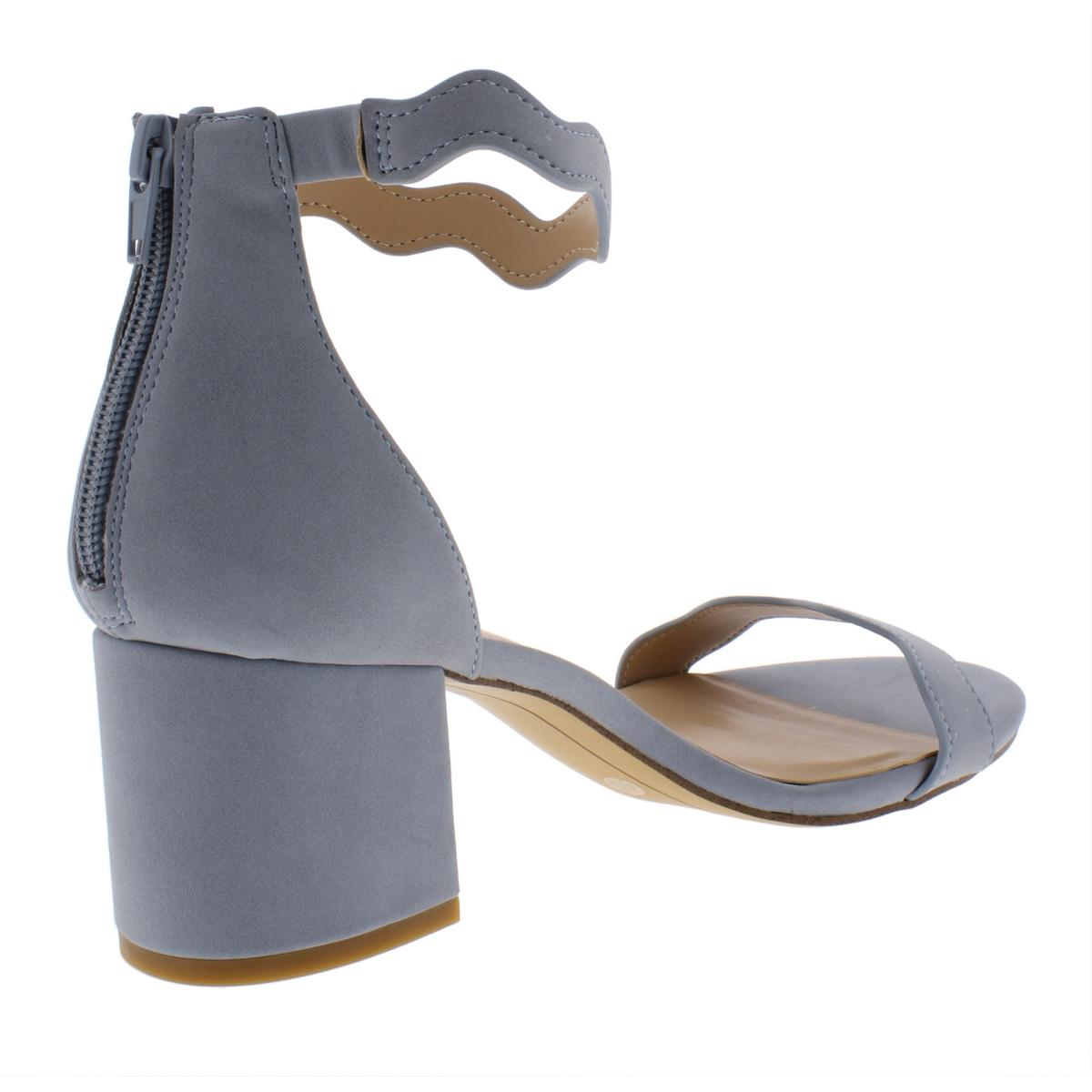 INC-Womens-Hadwin-Faux-Leather-Scalloped-Evening-Heels-Shoes-BHFO-7073 thumbnail 6