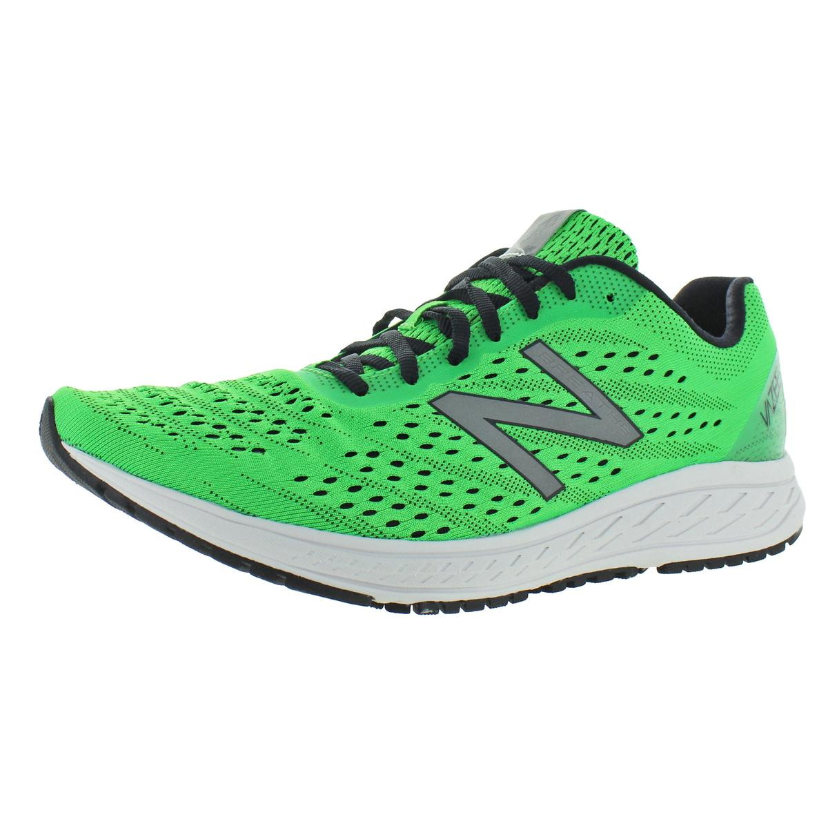 Mens vazee verde Correr New Balance Zapatos Tenis 12 mediano (D) BHFO 1076