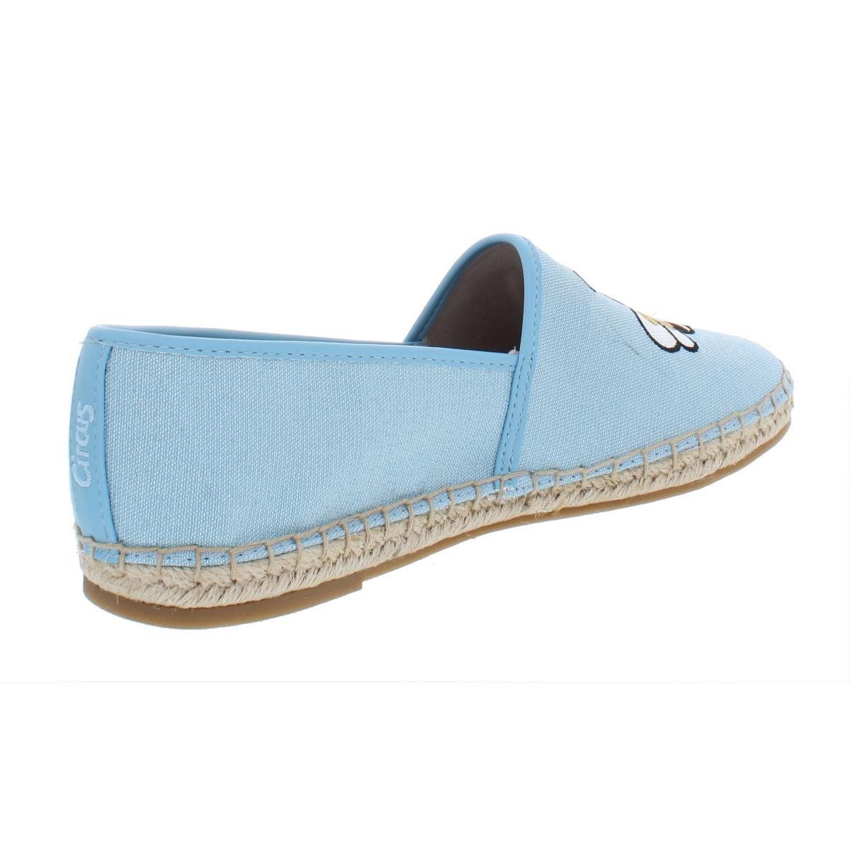 Circus-by-Sam-Edelman-Womens-Leni-6-Canvas-Slip-On-Loafer-Flats-Shoes-BHFO-4603 thumbnail 6