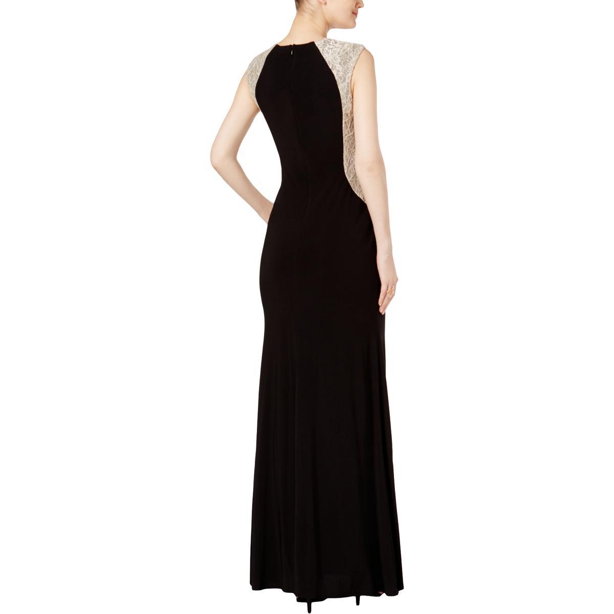303dfb65 Xscape Womens Velvet Trim Strapless Full-Length Dress Petites BHFO 4659  Damenmode