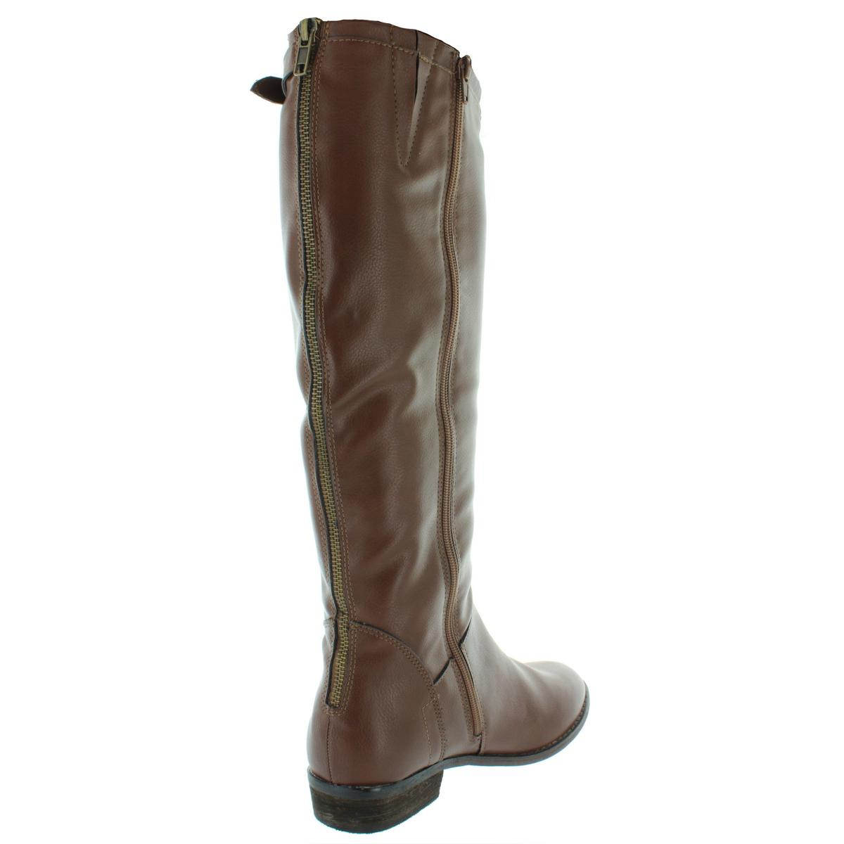 Steve Madden Womens Agnes Faux Leather Dress Knee-High Knee-High Knee-High Boots shoes BHFO 7803 6fe940