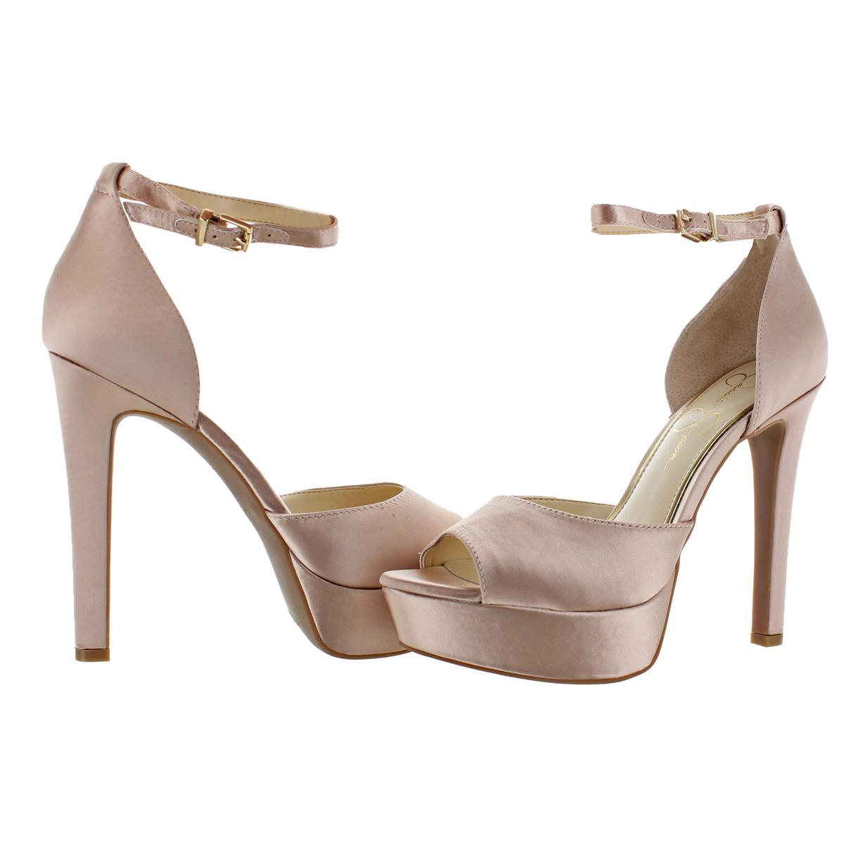 Jessica-Simpson-Women-039-s-Beeya-Ankle-Strap-Platform-Heeled-Sandals-Shoes thumbnail 6