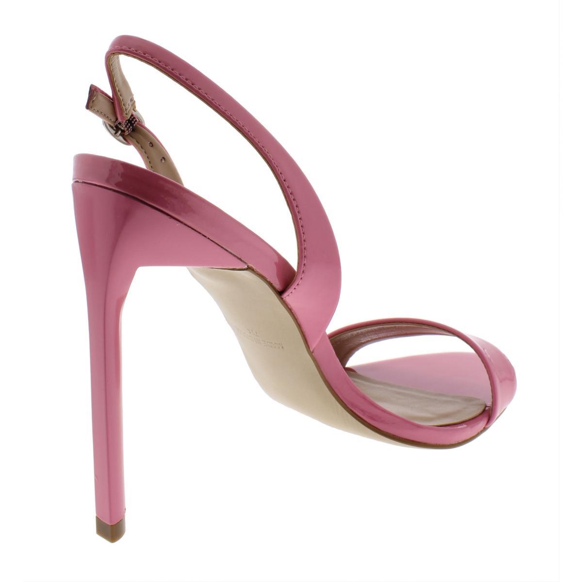 Steve-Madden-Womens-Corine-Patent-Leather-Stiletto-Dress-Sandals-Shoes-BHFO-2344 thumbnail 8