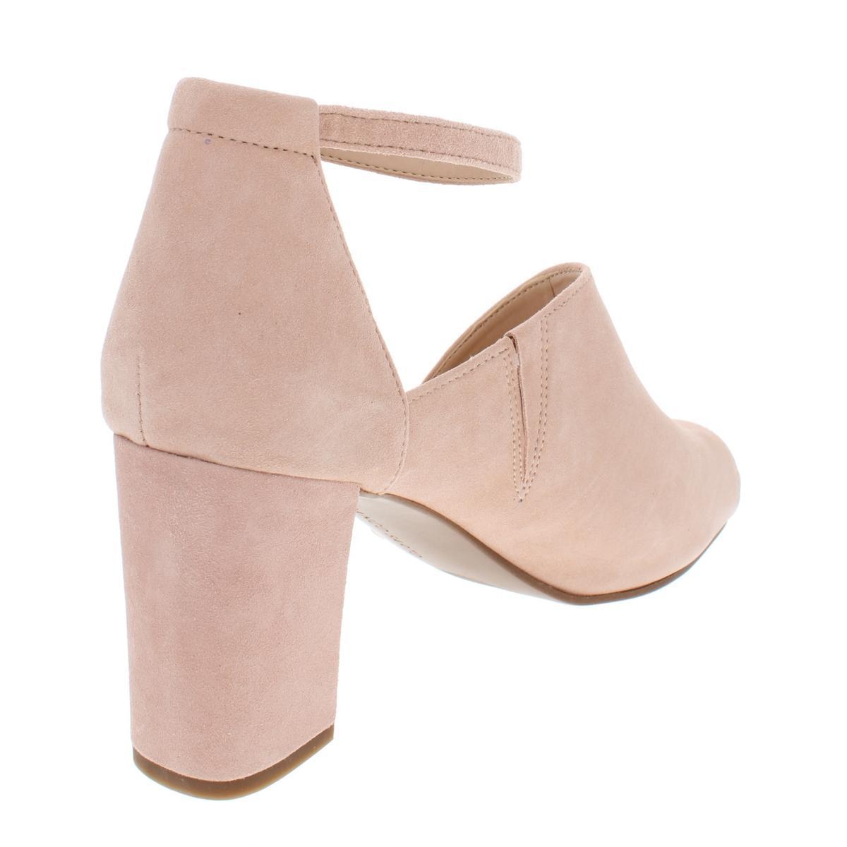 Franco-Sarto-Womens-Gayle-Suede-Block-Heel-Dress-Sandals-Shoes-BHFO-5369 thumbnail 4