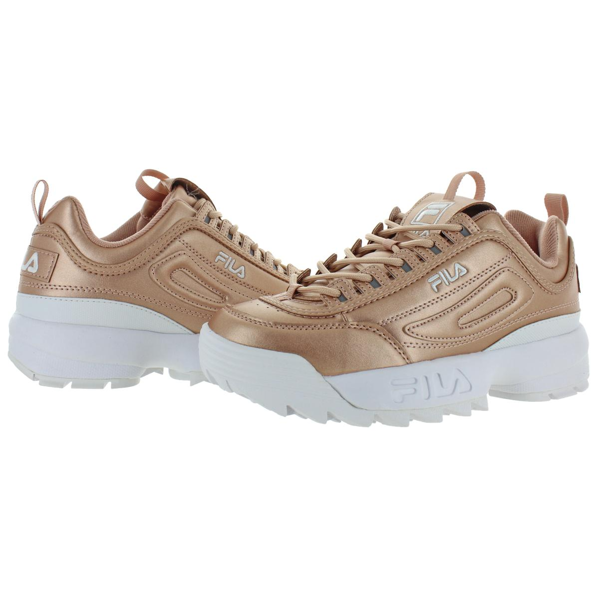 Fila-Womens-Disruptor-II-Premium-Metallic-Trainers-Sneakers-Shoes-BHFO-5237 thumbnail 10