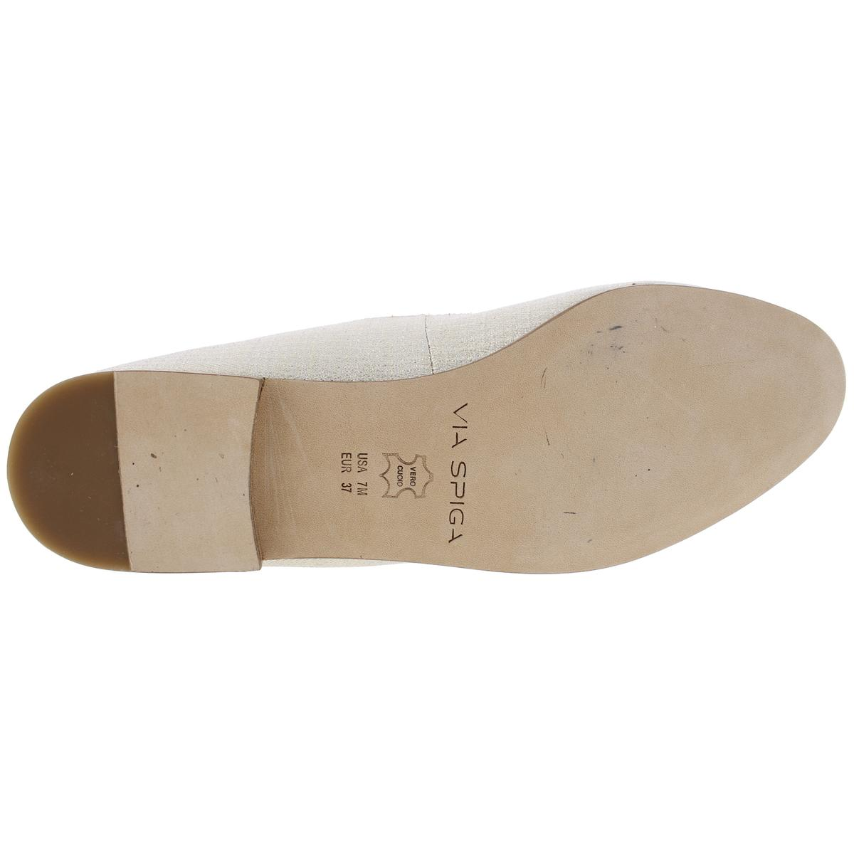 Via-Spiga-Womens-Yovela-Criss-Cross-Front-Ballet-Flats-Shoes-BHFO-4384 thumbnail 8
