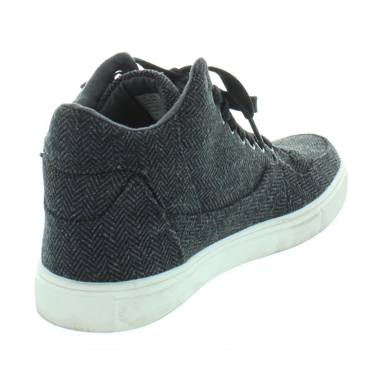 d5db5ff72258 Details about Guess Mens Towman Black High Top Fashion Sneakers Shoes 8.5  Medium (D) BHFO 9913