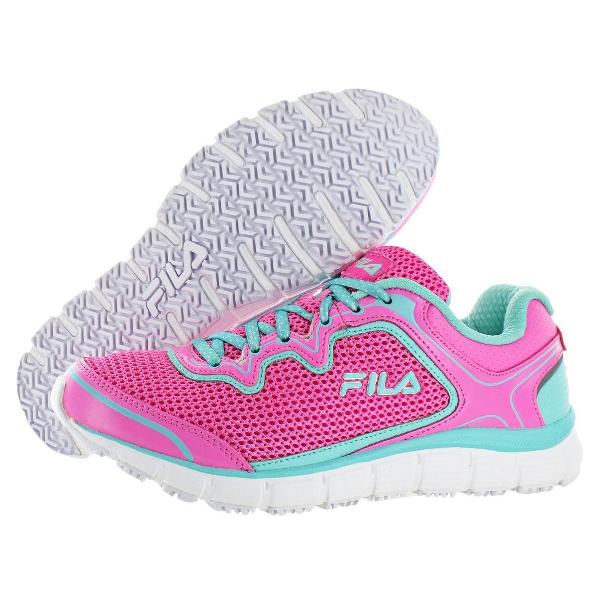 cb18a7acce Fila Women s Memory Foam Fresh Start Slip Resistant Sneakers Shoes ...