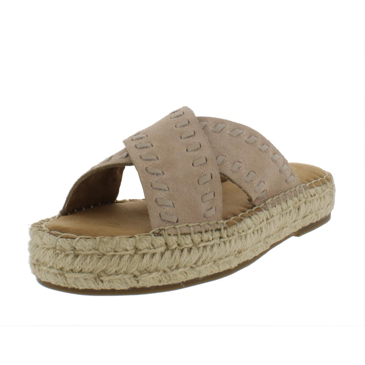 24c772082da0 Details about Aerosoles Womens Rose Gold Flatform Sandals Leisure  Espadrilles Shoes BHFO 5875