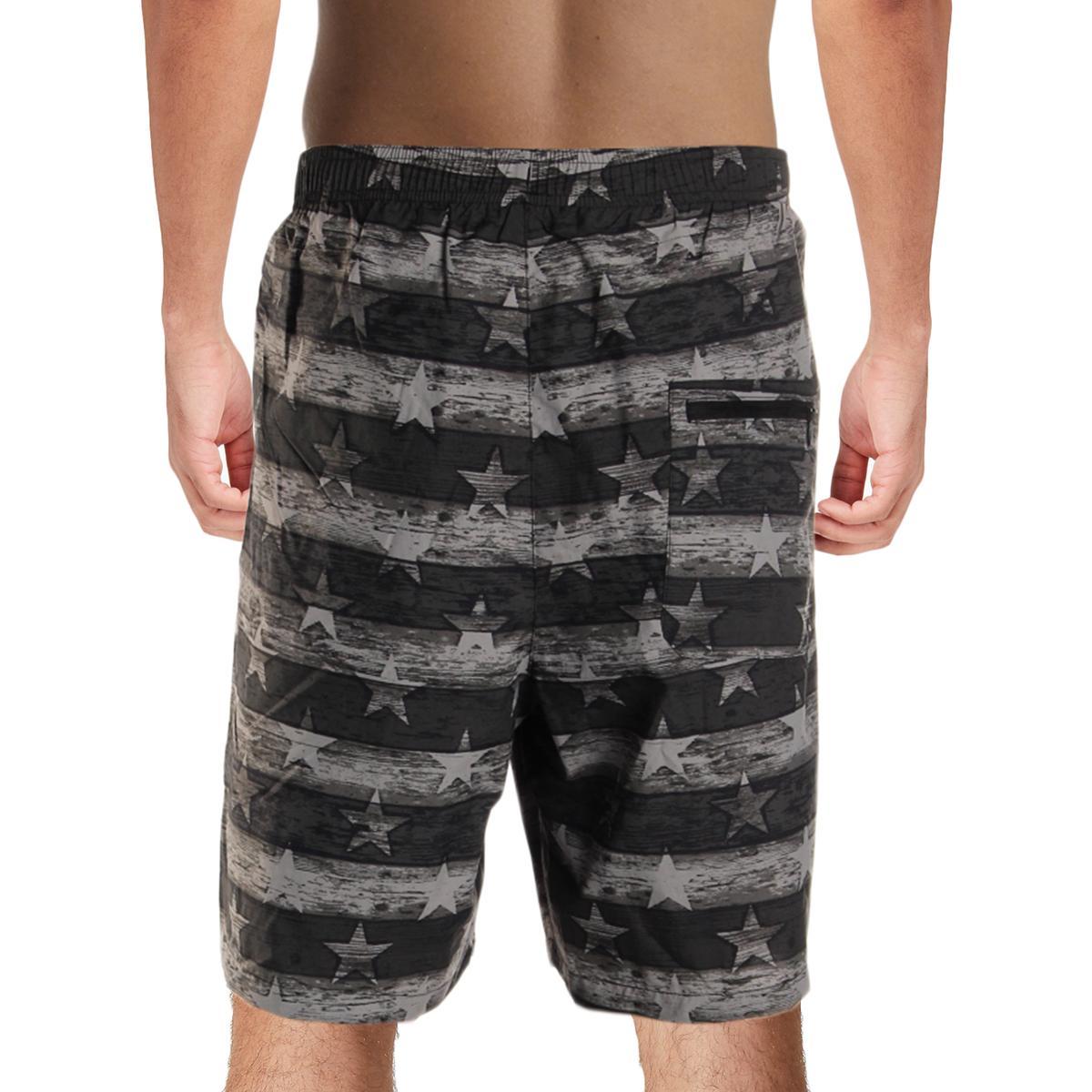 Columbia-Mens-Big-Dippers-Printed-Swim-Trunks-Swimsuit-Big-amp-Tall-BHFO-5580 thumbnail 4