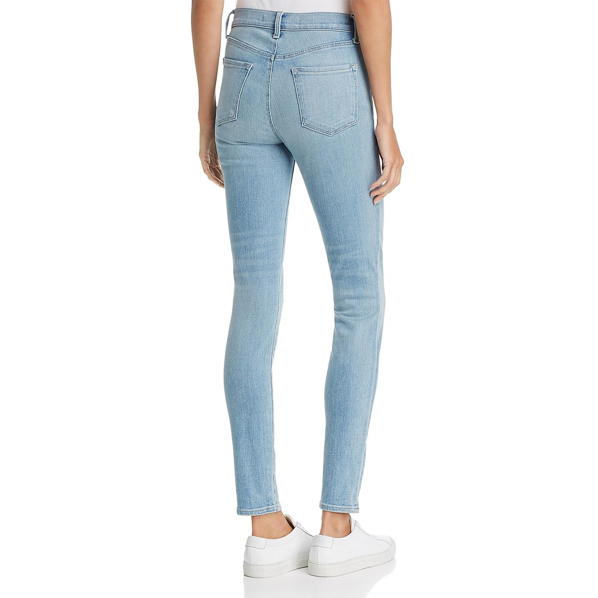 d8c098fae5b6 Details about J Brand Womens Maria Blue High Rise Faded Stretch Skinny Jeans  29 BHFO 1606