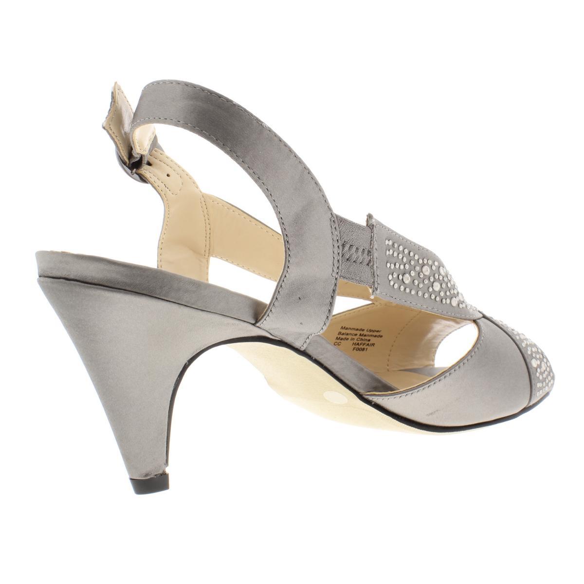 Charter-Club-Womens-Haffair-Satin-Heels-Dress-Sandals-Evening-BHFO-6807 thumbnail 6
