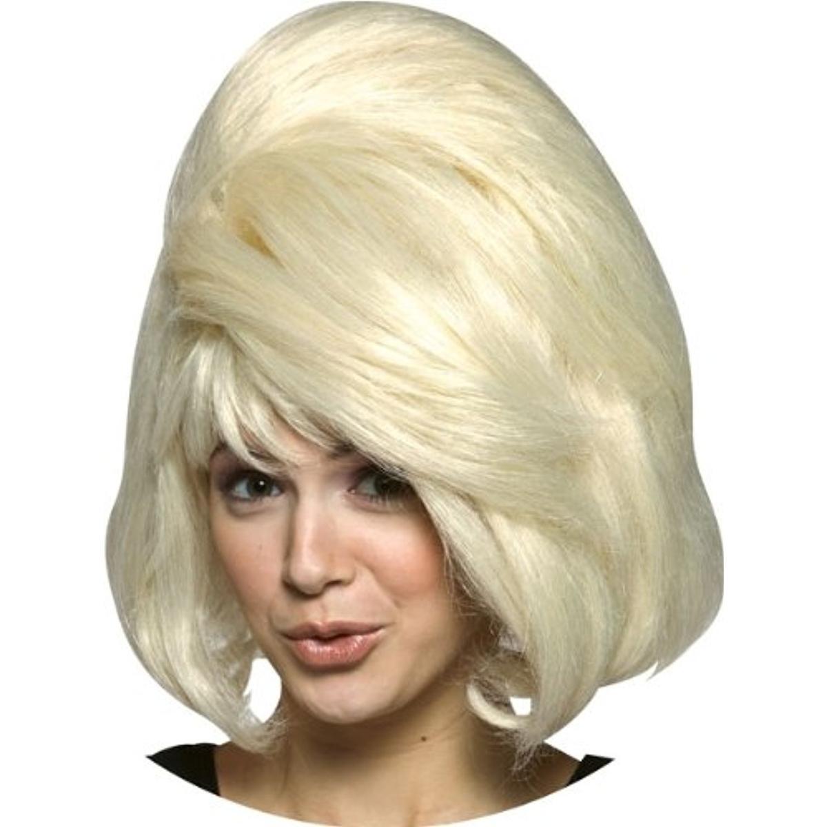 Rasta Imposta Womens Wig A La Mod Ivory Halloween Costume Wig O//S BHFO 4406