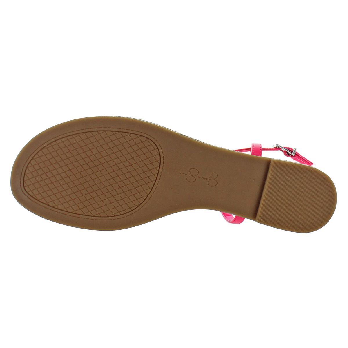 Jessica-Simpson-Femme-Brimah-Casual-String-Spartiates-Chaussures-BHFO-1194 miniature 9