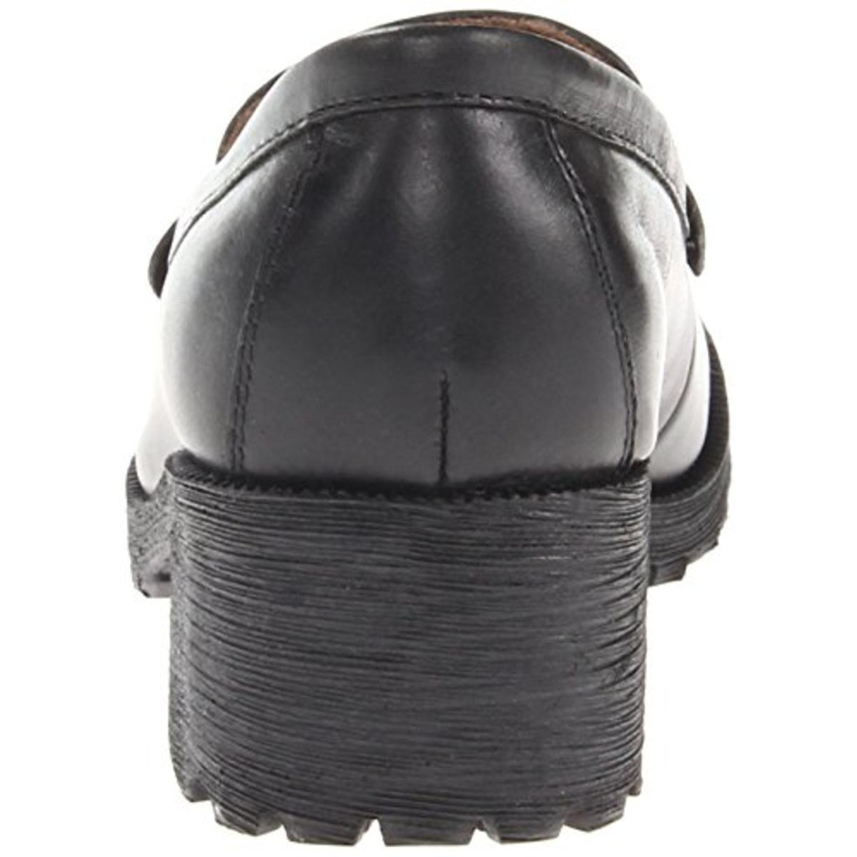 Eastland Womens Newbury Black Clog Penny Loafers Shoes 6 ...