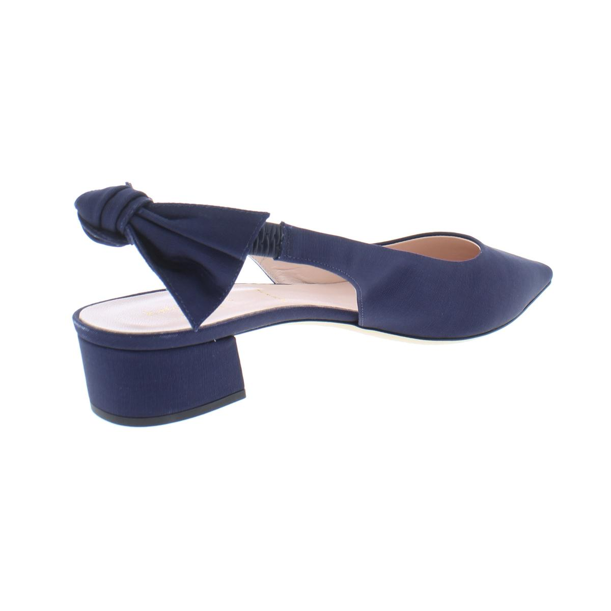 Kate-Spade-Womens-Lucia-Slingback-Pointed-Toe-Dress-Pumps-Evening-BHFO-9770 thumbnail 4
