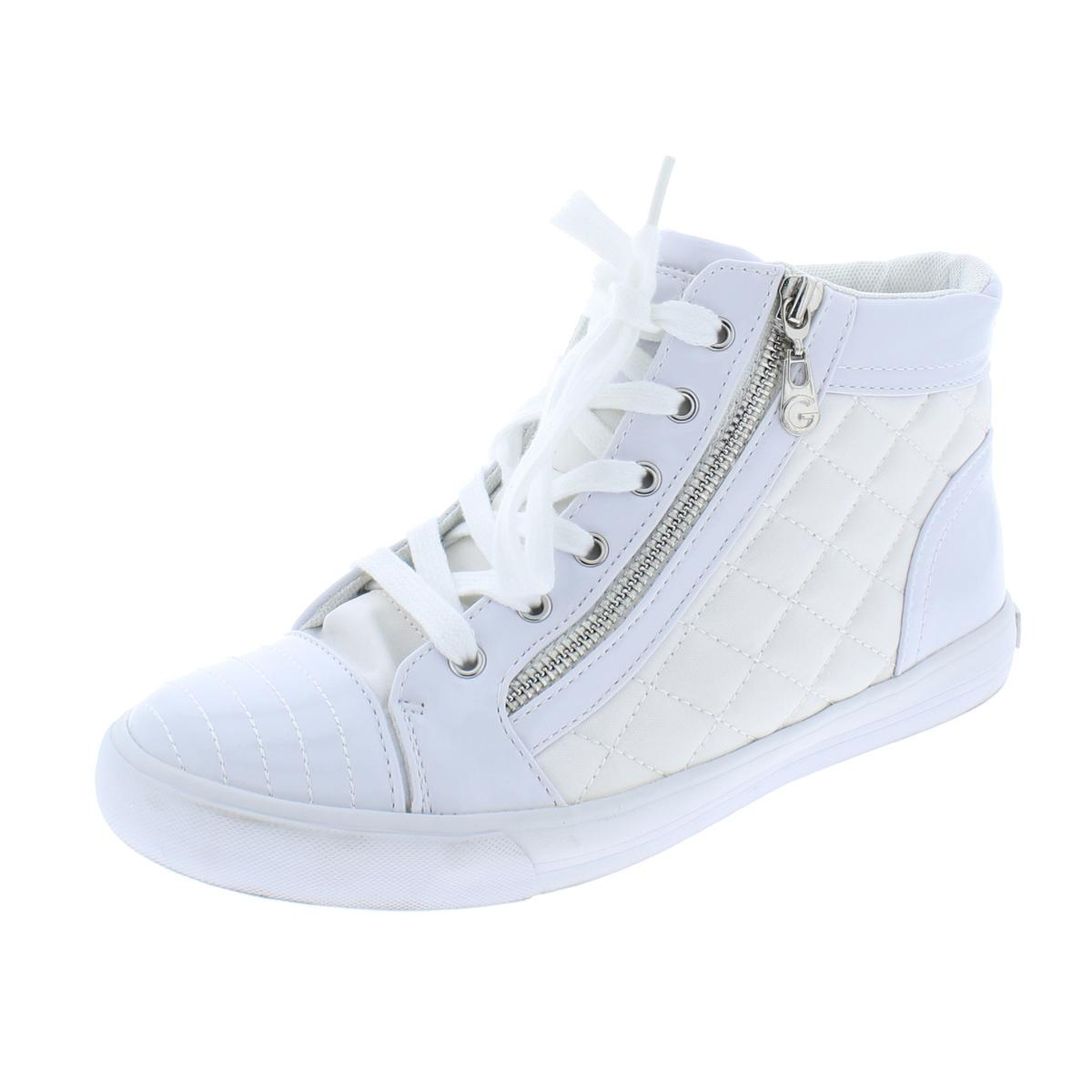 9716625e0e5 Details about G by Guess Womens Orily White Fashion Sneakers Shoes 8.5  Medium (B