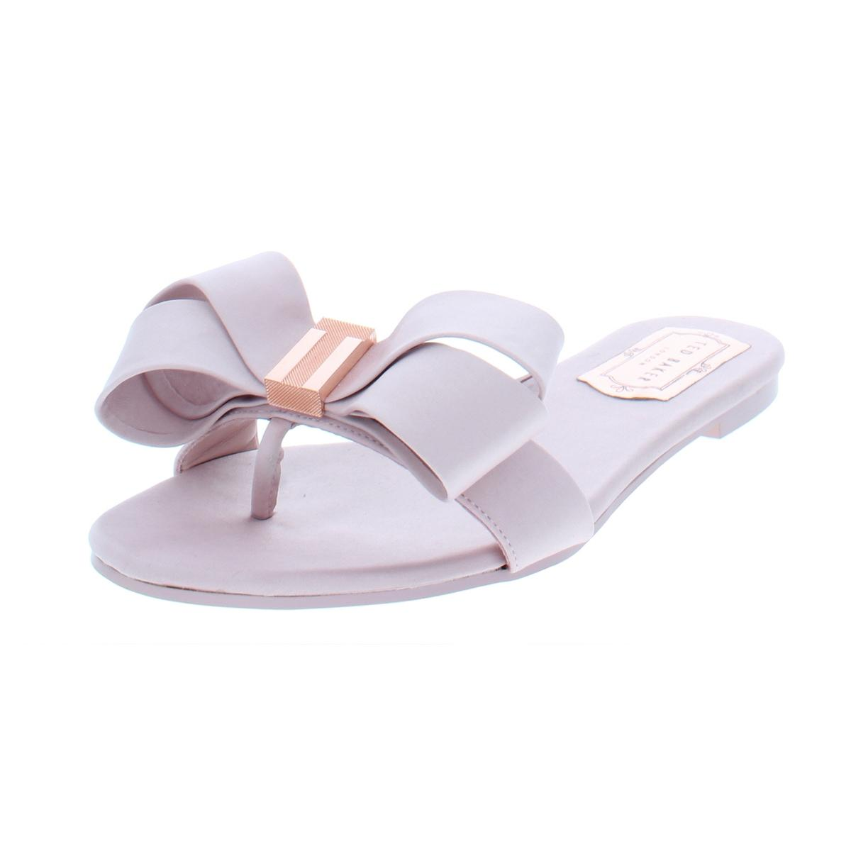 82d35b7de29c Details about Ted Baker Womens Beauita Pink Slide Sandals Shoes 8.5 Medium  (B