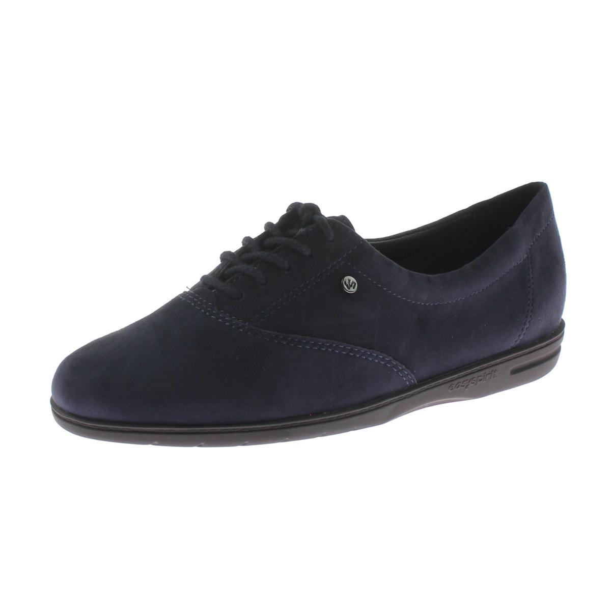 Easy Spirit Womens Motion Navy Suede Casual Shoes 4.5 Medium (BM) BHFO 6957