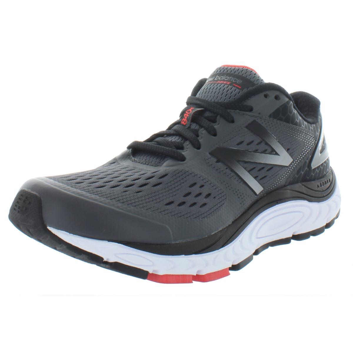 New Balance Mens 840V4 Gray Running Shoes Sneakers 8 Medium