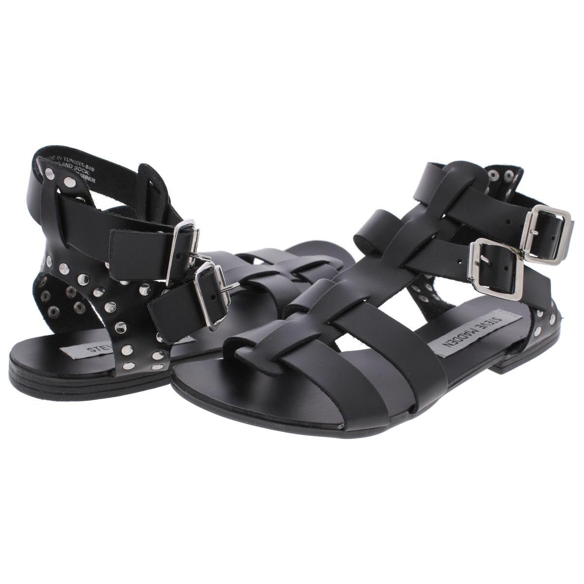 Steve-Madden-Womens-Lucy-Open-Toe-Studded-Strappy-Dress-Sandals-Shoes-BHFO-1682 thumbnail 7