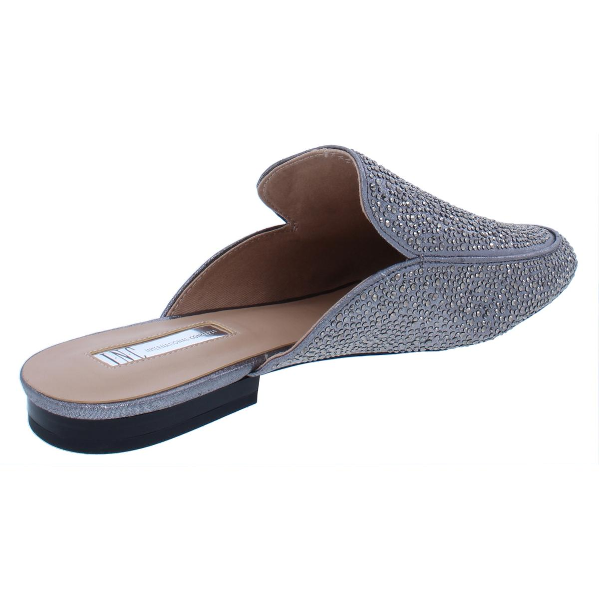 INC-Womens-Gannie12-Embellished-Loafer-Round-Toe-Mules-Flats-BHFO-9730 thumbnail 6