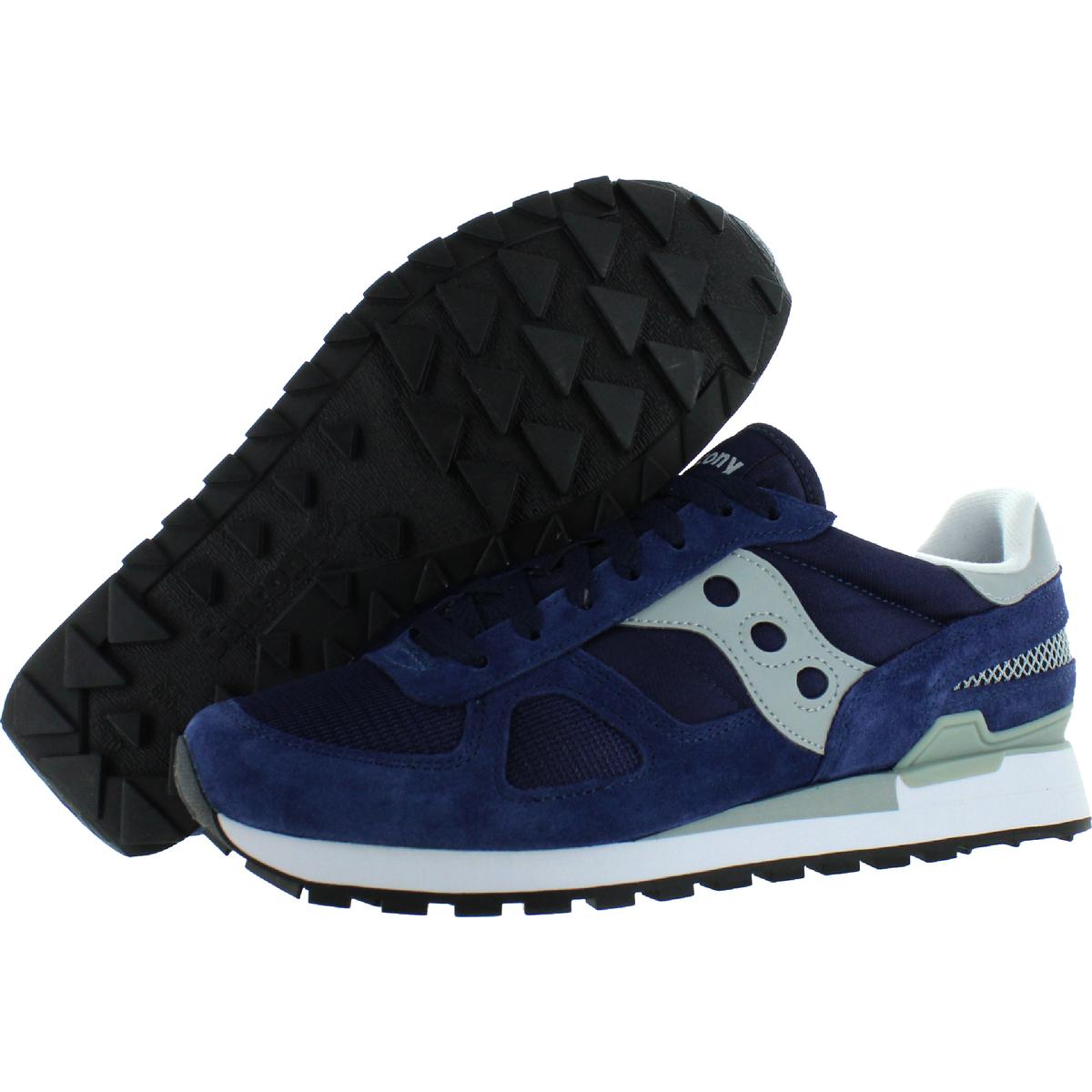 Saucony-Mens-Shadow-Original-Trainers-Suede-Comfort-Sneakers-Shoes-BHFO-0431 miniatuur 24