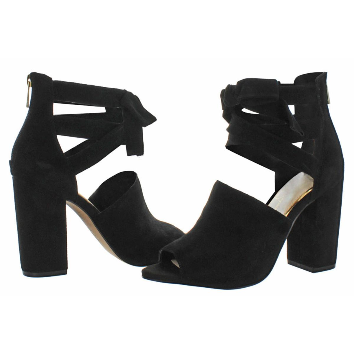 Jessica-Simpson-Kandiss-Women-039-s-Open-Toe-Block-Heel-Dress-Shoes thumbnail 5