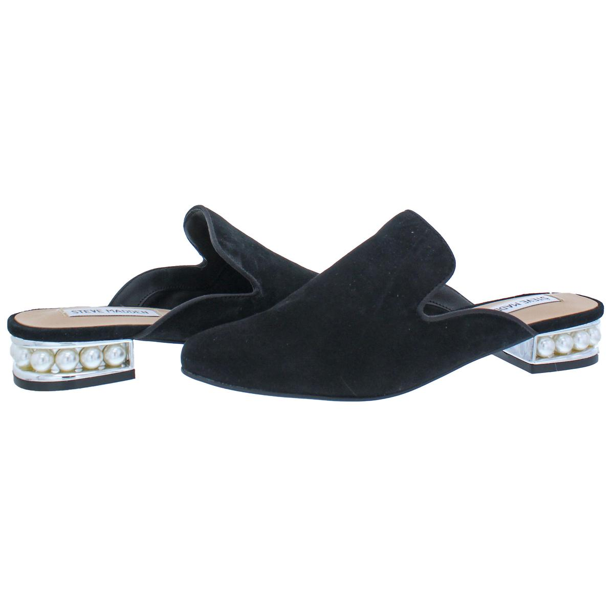 Steve-Madden-Womens-Sanderson-Round-Toe-Dress-Loafer-Mule-Shoes-BHFO-1456 thumbnail 5