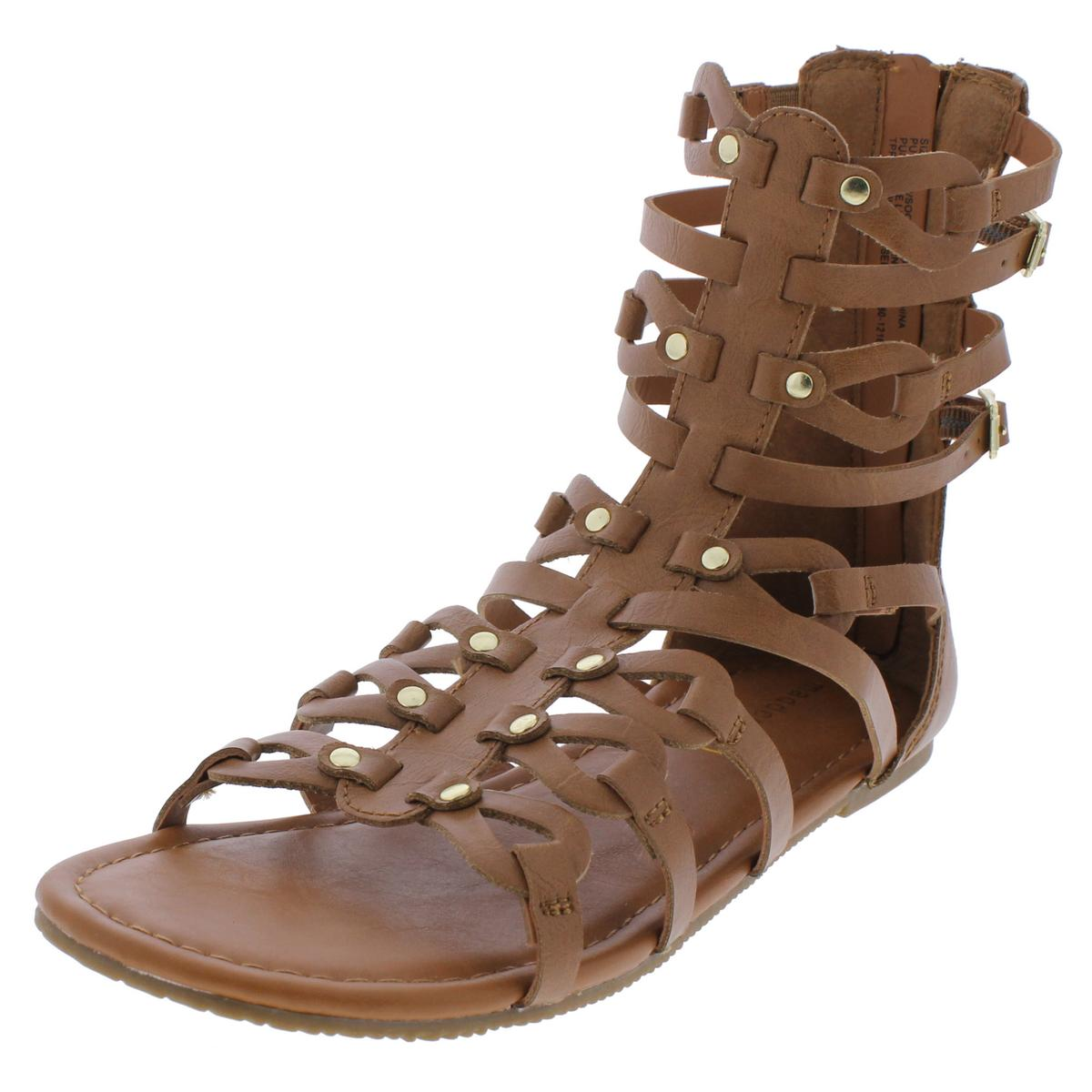 66c1f599ce5 Details about Madden Girl by Steve Madden Girls SERENTE Flat Gladiator  Sandals Flats BHFO 0226