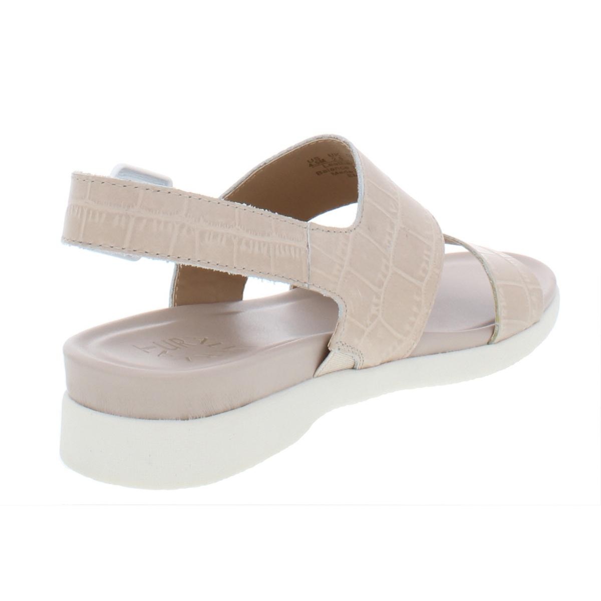 Naturalizer-Womens-Emory-Leather-Demi-Wedge-Casual-Strap-Sandals-Shoes-BHFO-6523 thumbnail 6