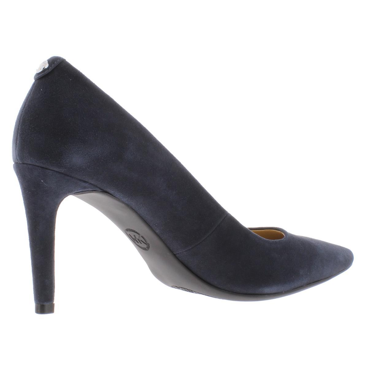 MICHAEL-Michael-Kors-Womens-Dorothy-Suede-Pumps-Dress-Heels-Shoes-BHFO-6408 thumbnail 4