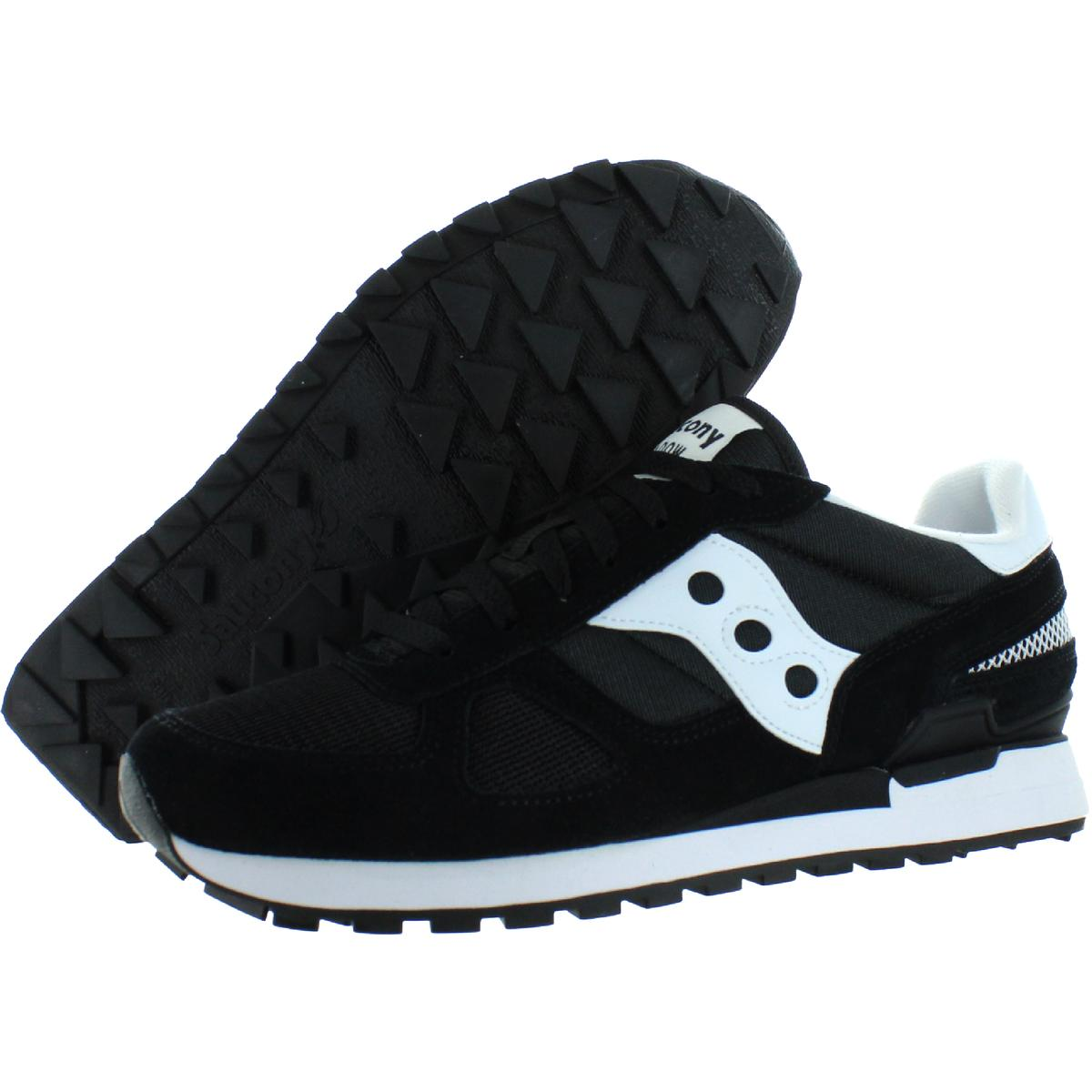 Saucony-Mens-Shadow-Original-Trainers-Suede-Comfort-Sneakers-Shoes-BHFO-0431 miniatuur 6