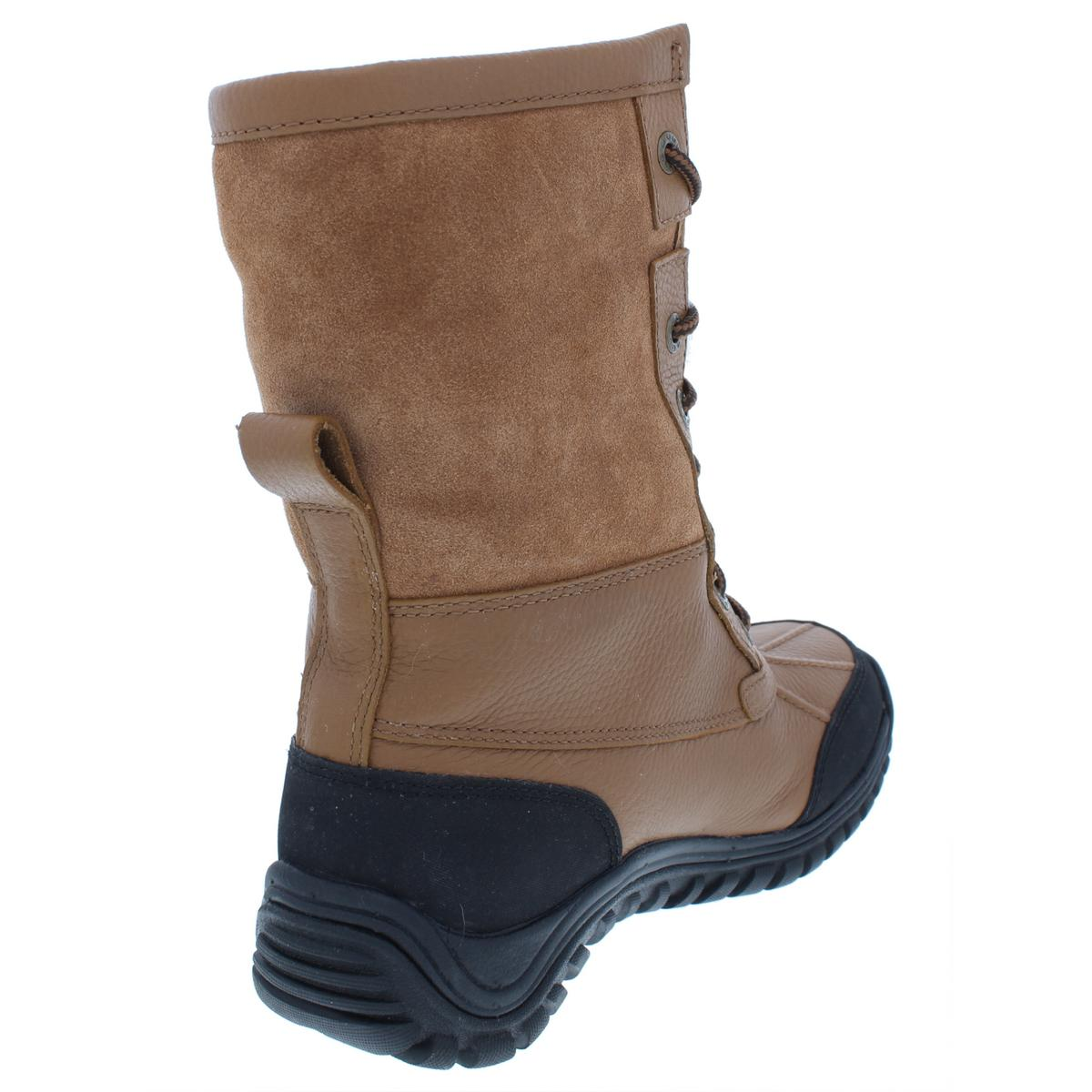 a86785b92ca Details about Ugg Womens Adirondack Brown Winter Boots Shoes 5.5 Medium  (B,M) BHFO 5584