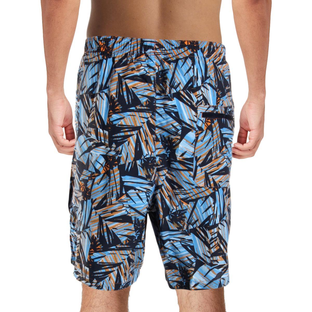 Columbia-Mens-Big-Dippers-Printed-Swim-Trunks-Swimsuit-Big-amp-Tall-BHFO-5580 thumbnail 6