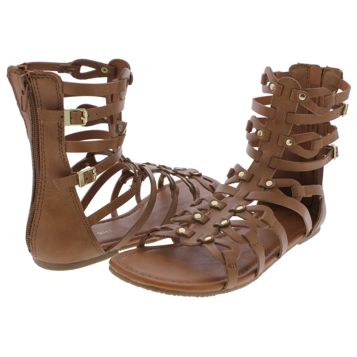 6595d3dbde77 Details about Madden Girl by Steve Madden Girls SERENTE Flat Gladiator  Sandals Flats BHFO 0226