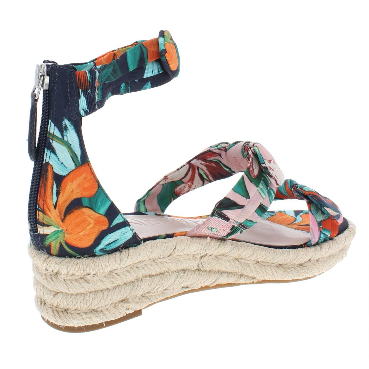 Nine-West-Womens-Allegro-Man-Made-Heel-Wedge-Sandals-Shoes-BHFO-7561 thumbnail 6