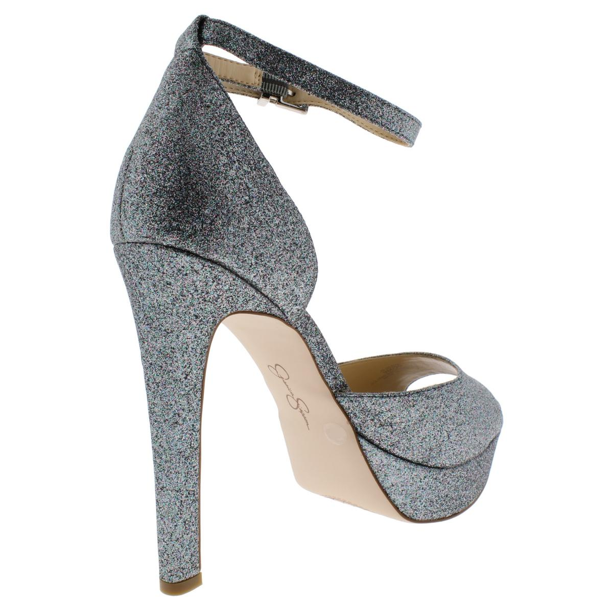 Jessica-Simpson-Women-039-s-Beeya-Ankle-Strap-Platform-Heeled-Sandals-Shoes thumbnail 9