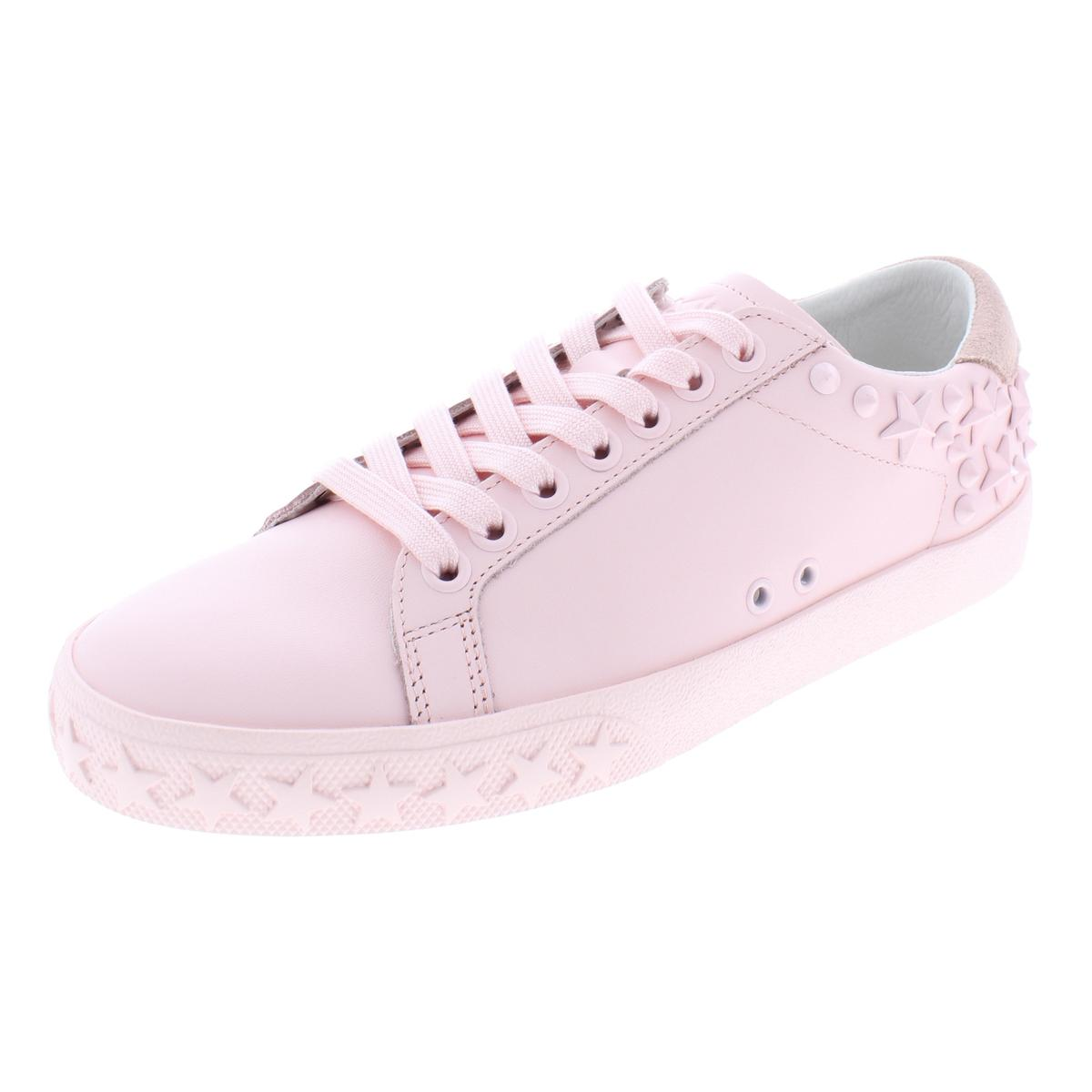 83d4728c27c9 Details about ASH Womens Dazed Leather Studded Fashion Casual Shoes Sneakers  BHFO 8343