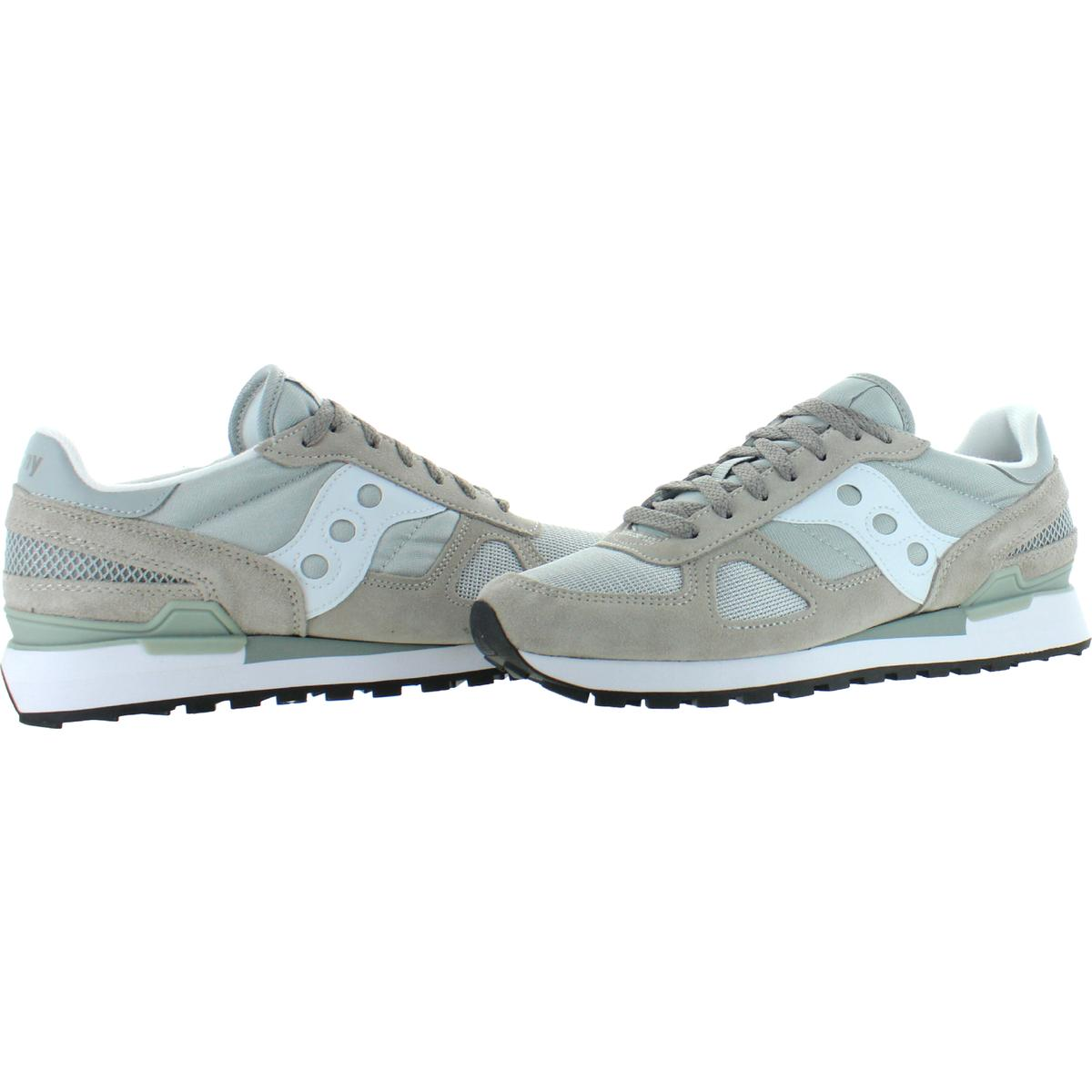 Saucony-Mens-Shadow-Original-Trainers-Suede-Comfort-Sneakers-Shoes-BHFO-0431 miniatuur 22
